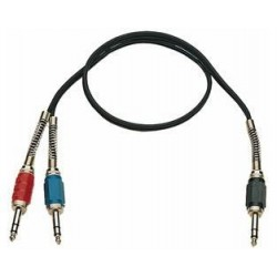 Cable 2 Jack estereo macho/Jack estereo macho 5 metros K55